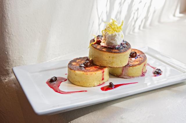 Lon's Lemon-Ricotta Pancakes
