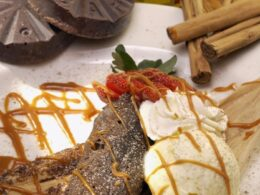 Chocolate Tamale from Los Sombreros